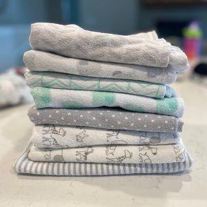 Cloud Island Flannel Blankets
